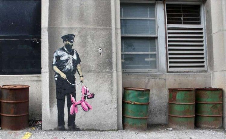 Banksy-muzzled
