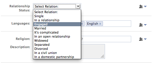 what is the meaning of separated in a relationship status